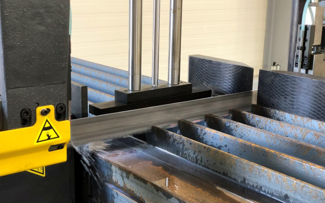 Cięcie na wymiar wyrobów stalowych